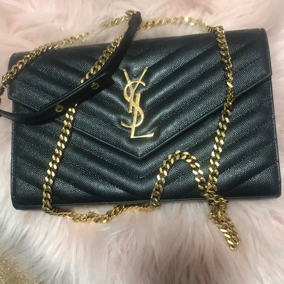ac411e332557 YSL MONOGRAM CHAIN WALLET. M 5bad8ef0bb76155ae9628a62